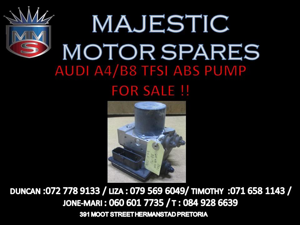 AUDI A4 B8 ABS PUMP