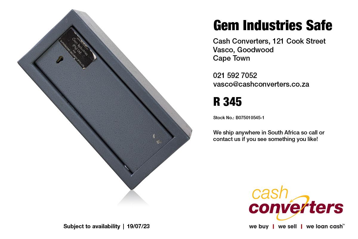 Gem Industries Safe