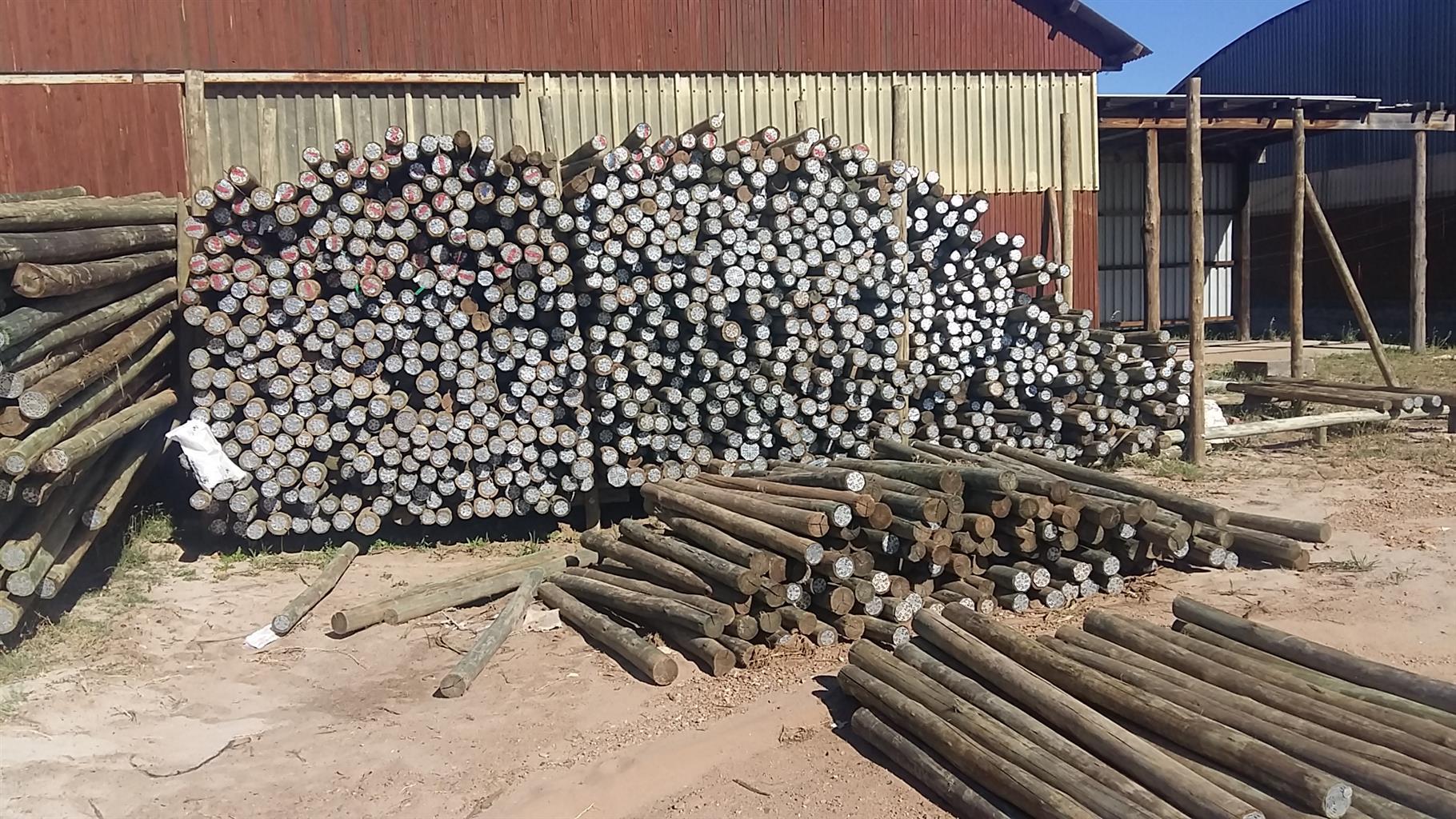 fence poles