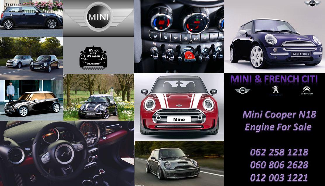 Mini Cooper R56 ZN18 1 6 Engine For Sale