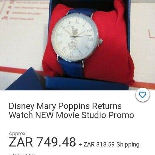 Brand new Disney Mary Poppins returns watch