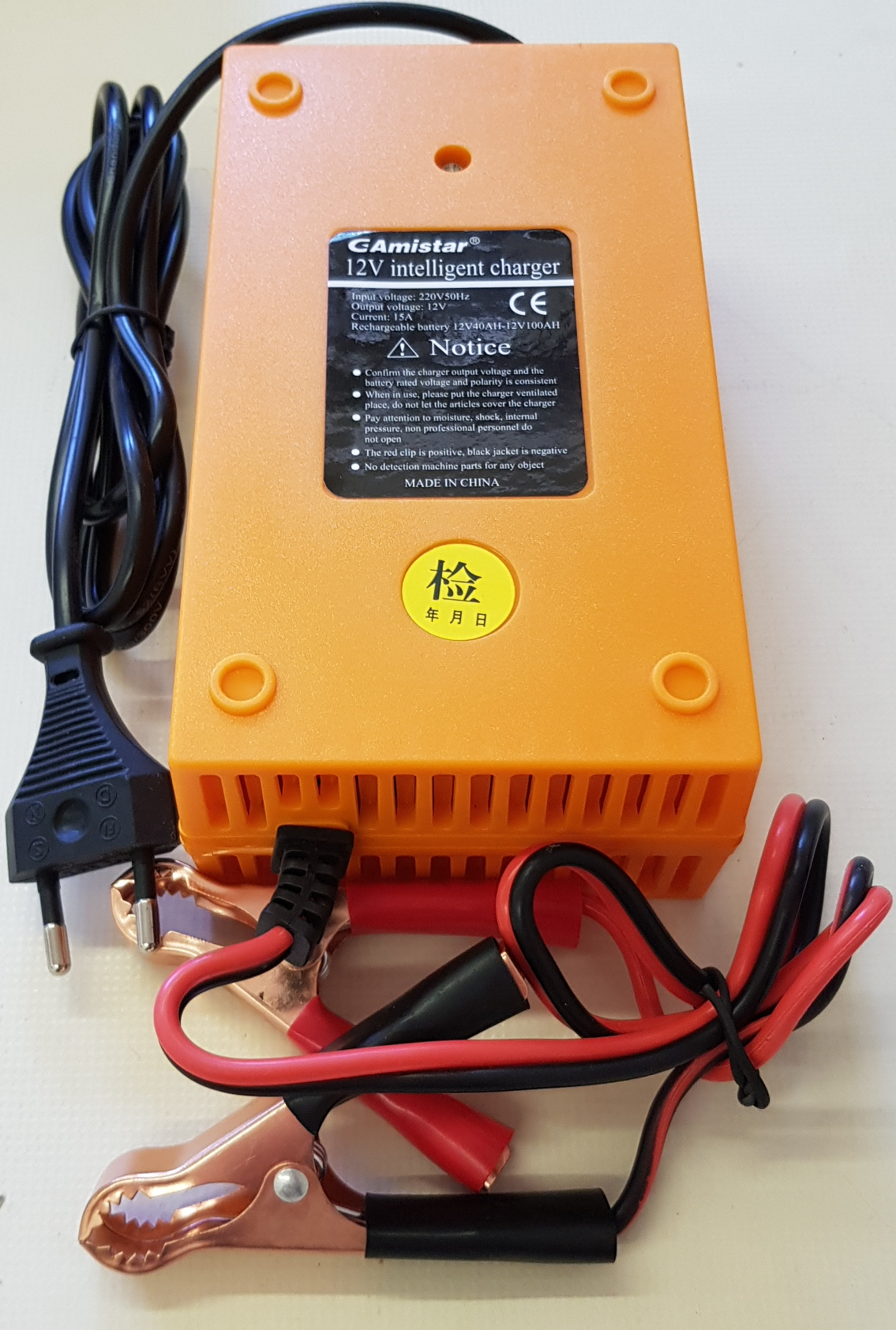 Battery Charger 15A 12V Intelligent Pulse Battery Charger. Brand New Products.