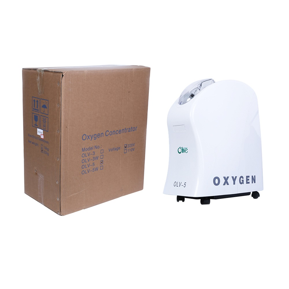 Small Home Oxygen Concentrator /Oxygen Breathing Machine For Pneumonia Patients