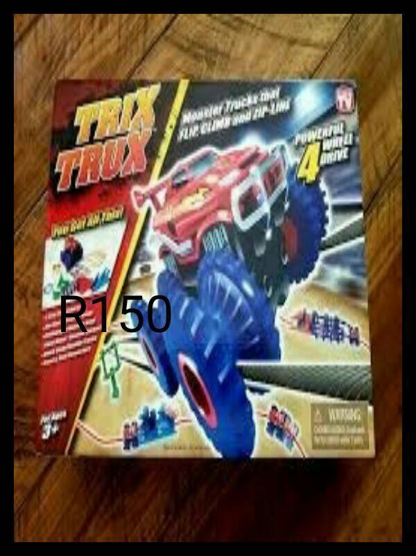 TRIX TRUX FOR SALE