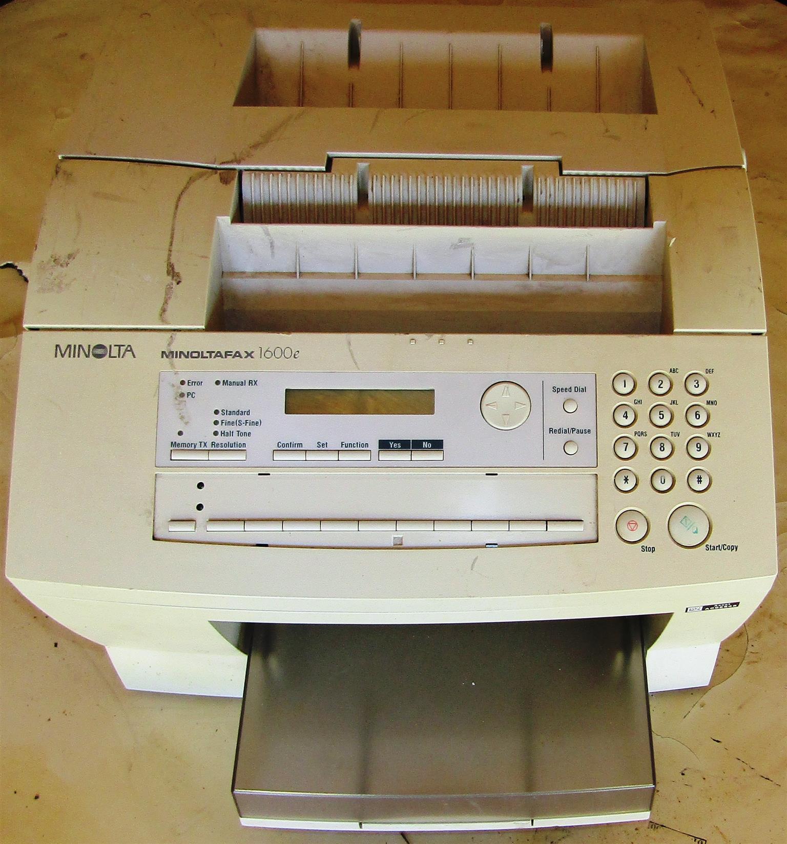 Minoltafax 1600e