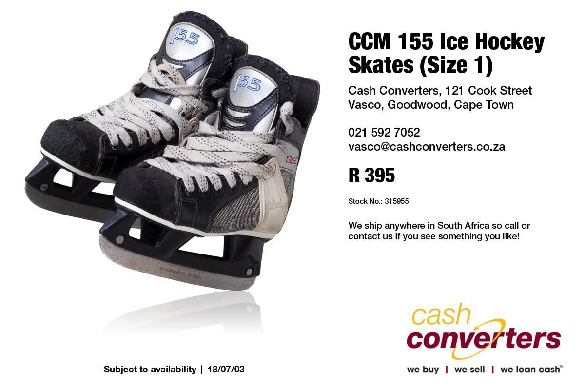 CCM 155 Ice Hockey Skates (Size 1)