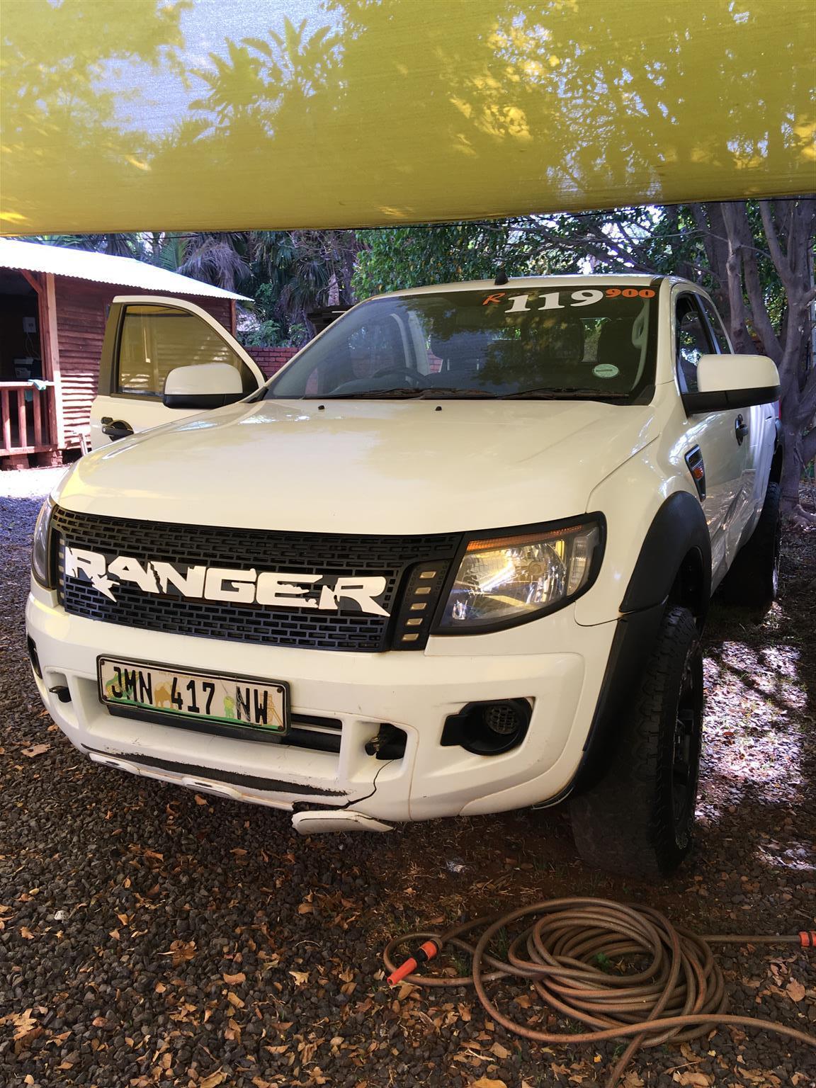 2012 Ford Ranger 2.2 Hi Rider XLS