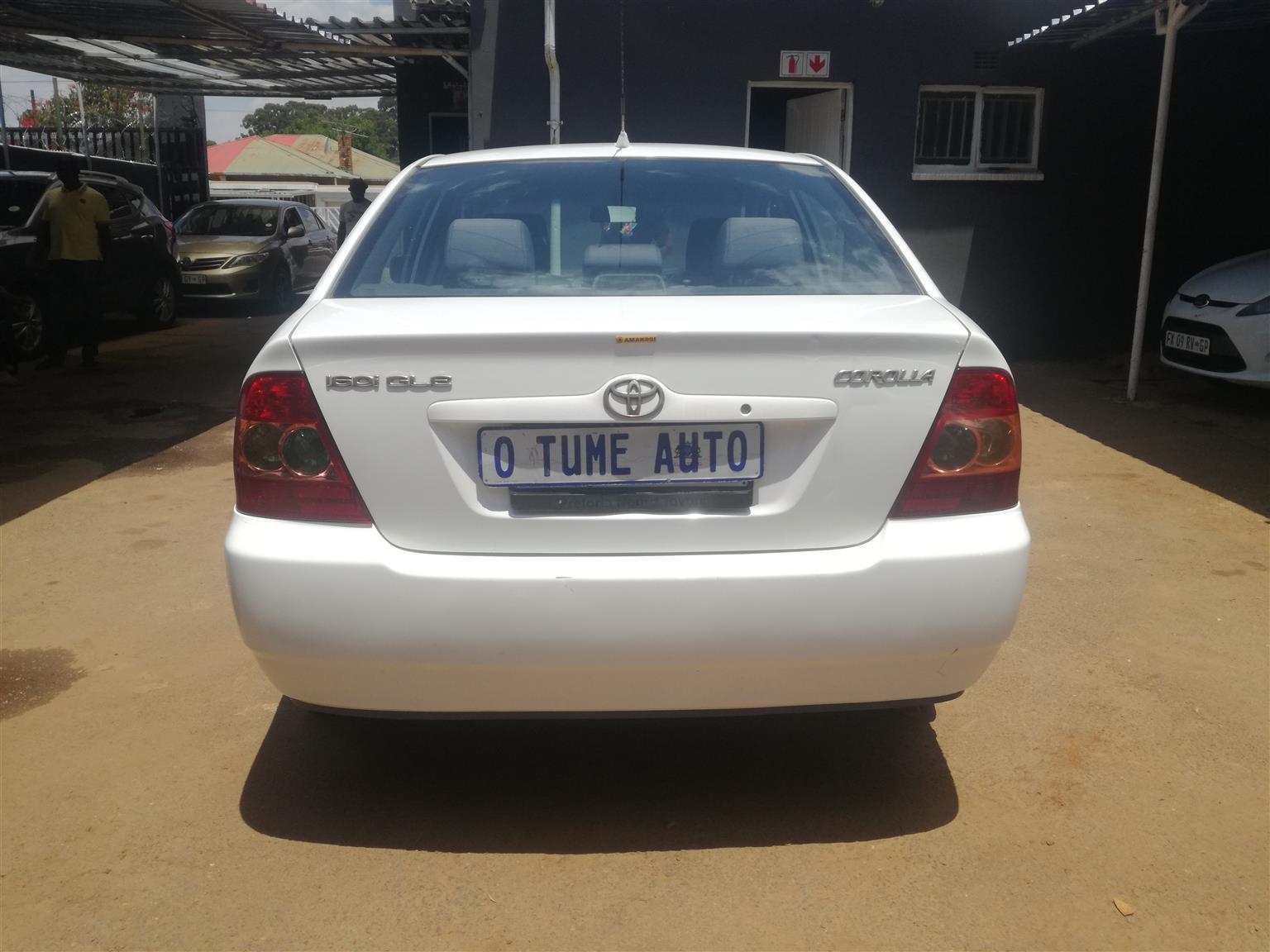 2005 Toyota Corolla 1.6 Advanced Heritage Edition
