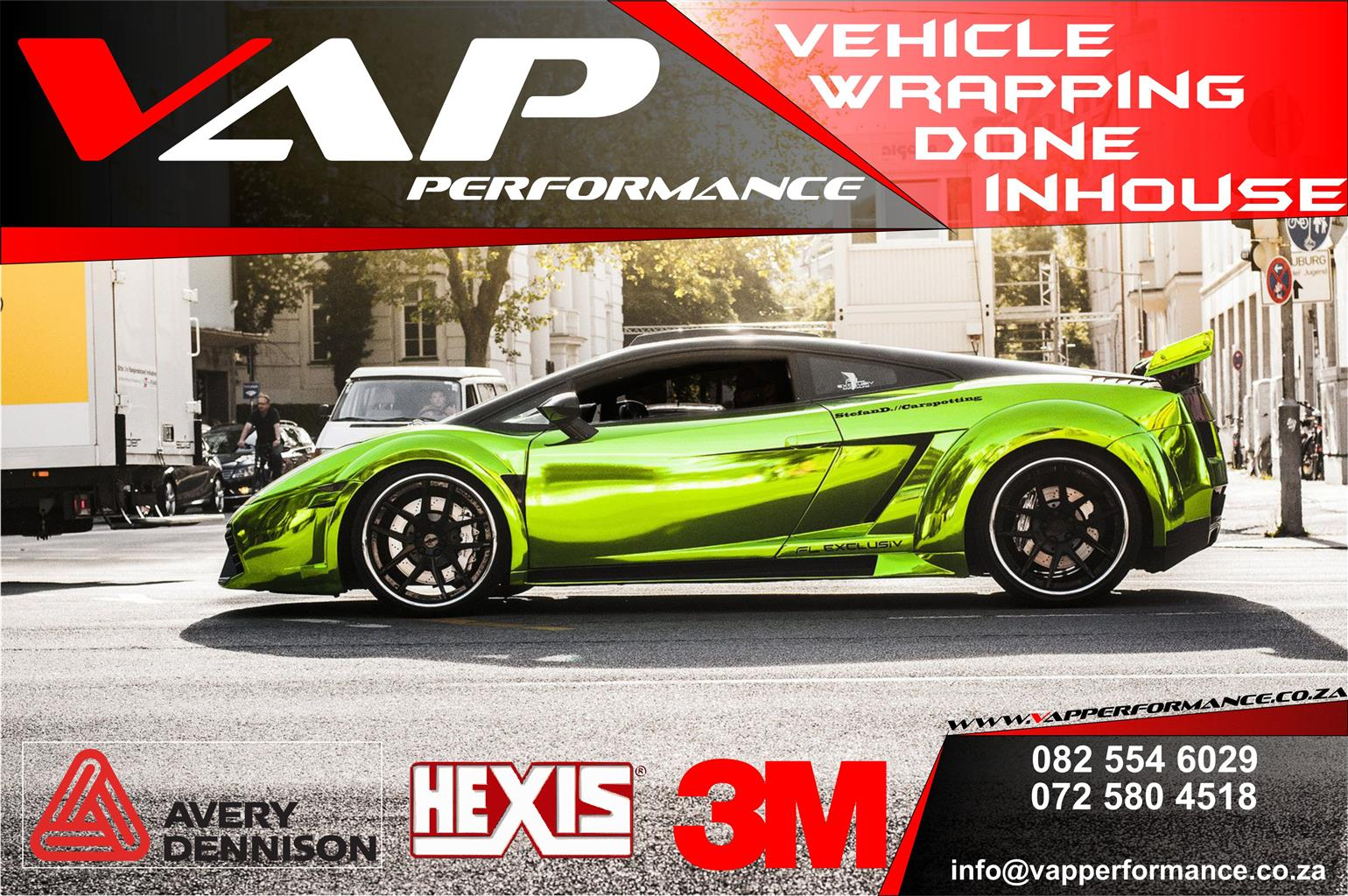 Vehicle Wrapping / Automotive Wrapping