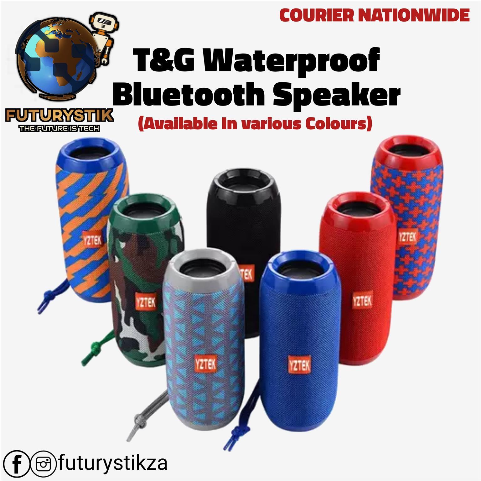 T&G Waterproof Bluetooth Speakers