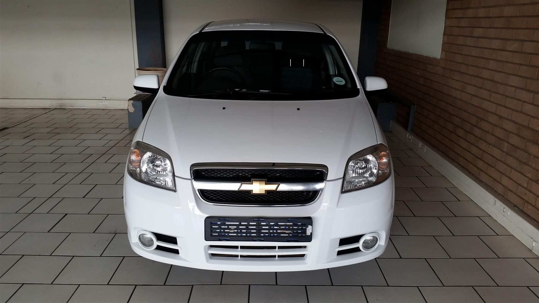 2016 Chevrolet Aveo 1.6 LS sedan