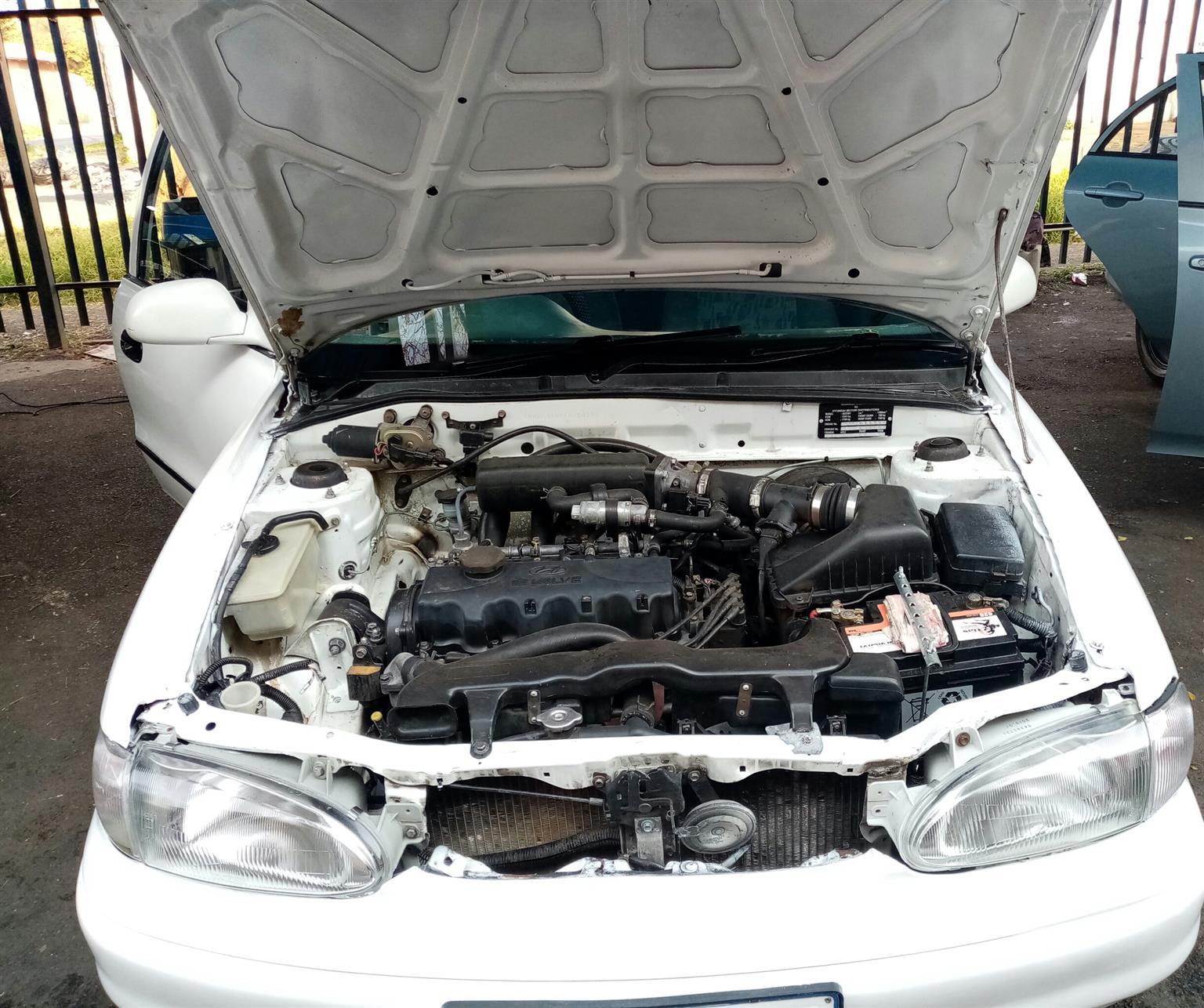 1996 Hyundai Accent 1.6 GL