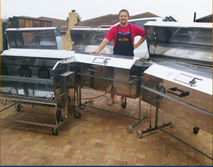 Spit / Rotisserie Braai service & catering equipment hire, Best Spitbraai for best results