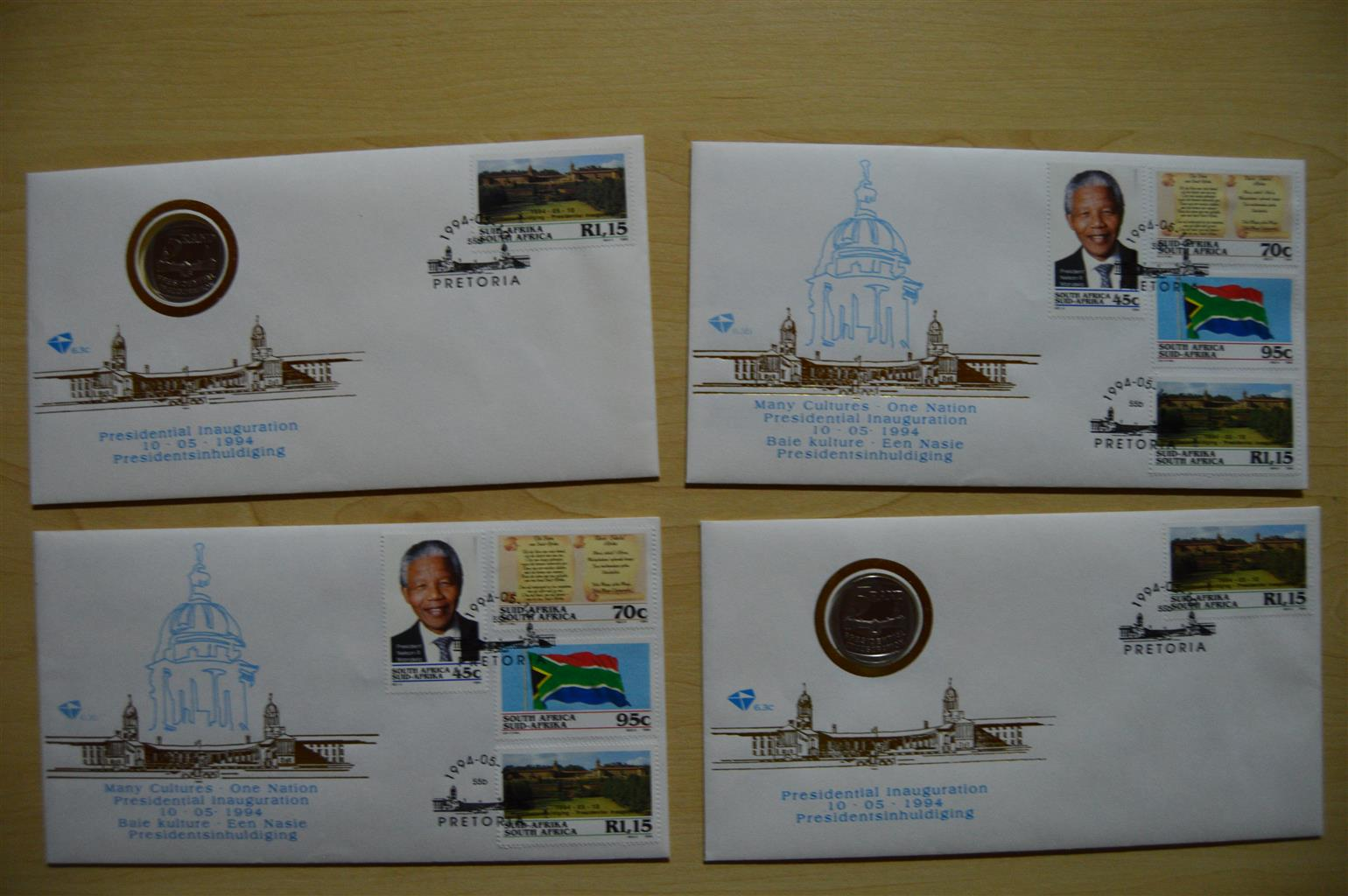 First day envelopes and stamps collection
