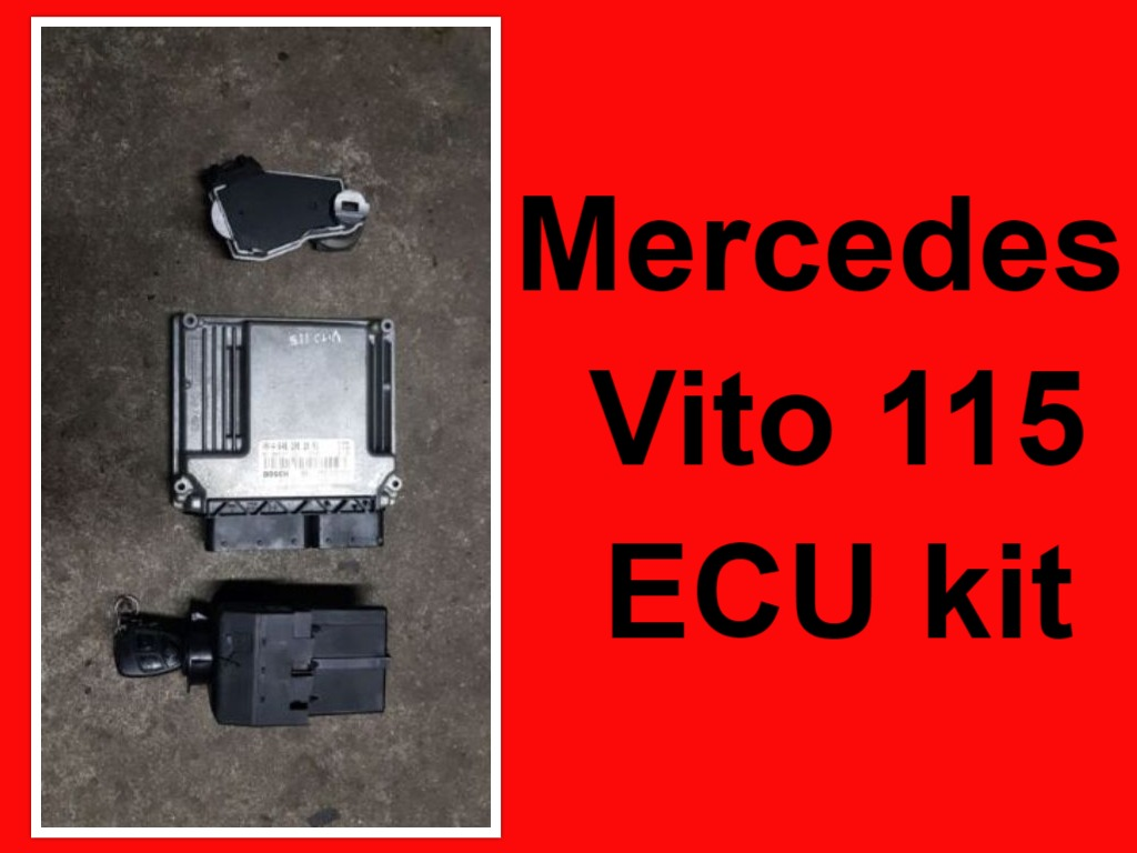 Mercedes Vito 115 ECU kit for sale.