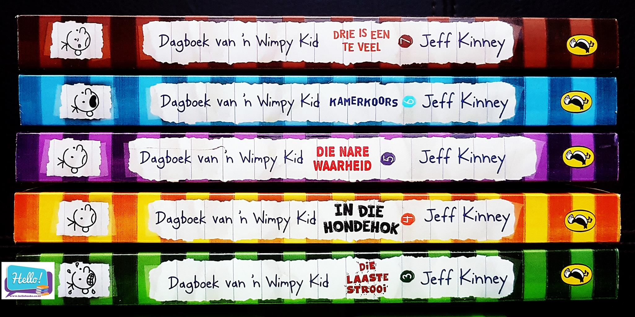 Jeff Kinney Dagboek van 'n Wimpy Kind