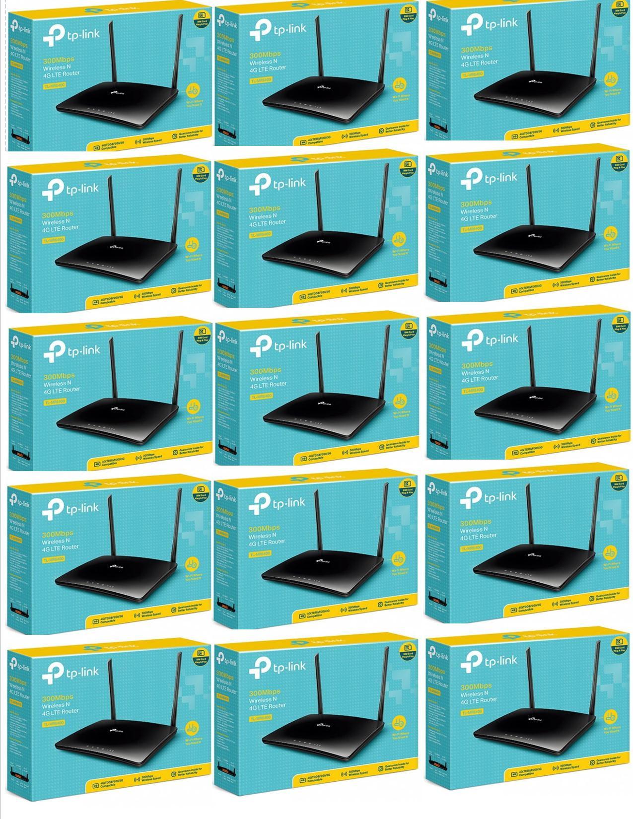 TP-Link TL-MR6400 4G-LTE Router-Brand New Sealed at low Price