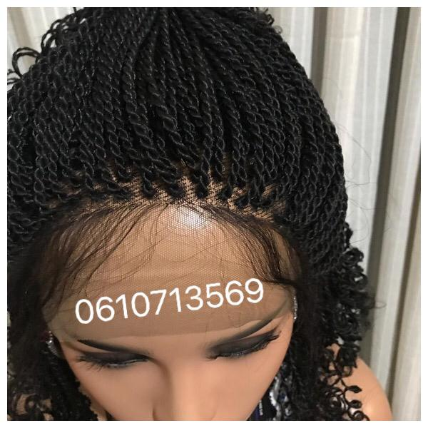 neat lace frontal twist wig