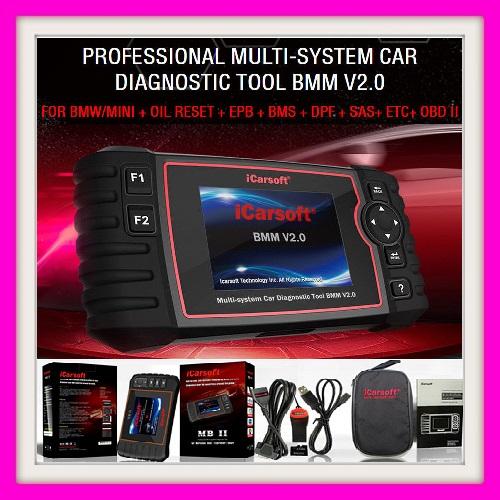 BMW DIAGNOSTIC TOOL: ICARSOFT BMM V2.0  PROFESSIONAL MULTI-SYSTEM CAR