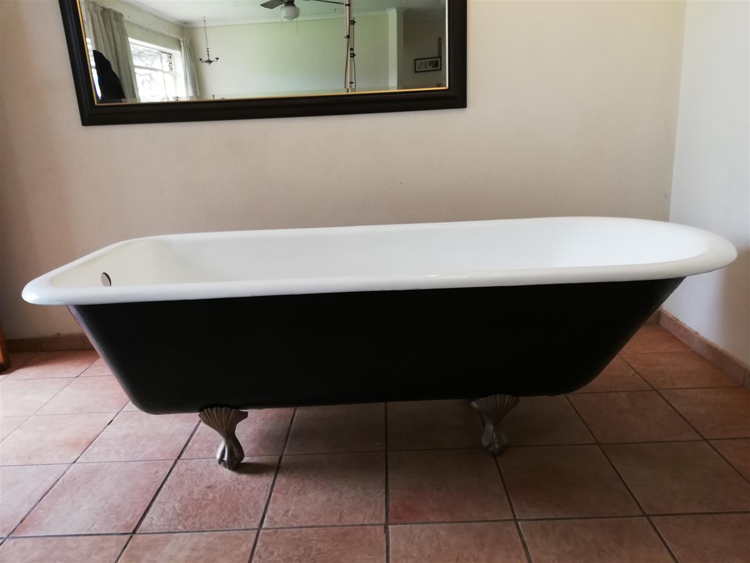 Cast Iron Ball and Claw Bath