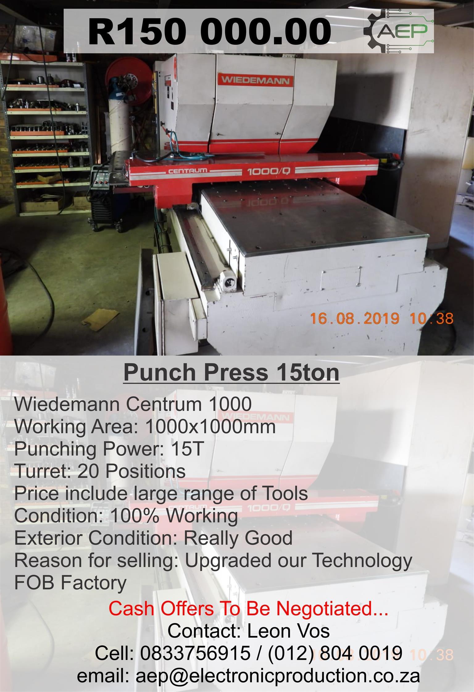 Wiedeman Press /Punch