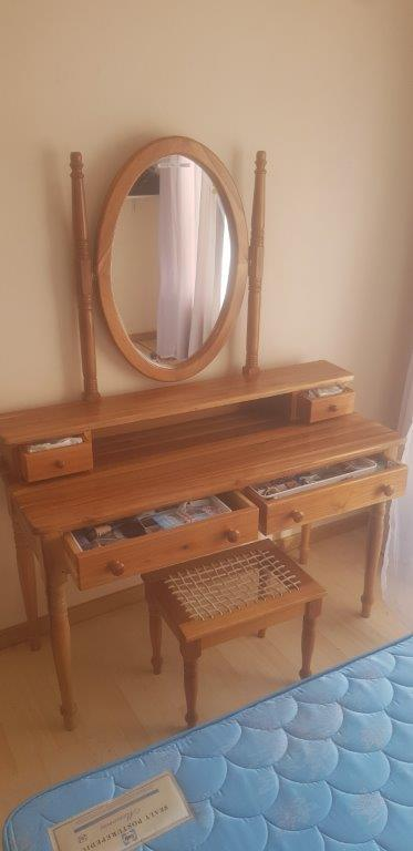 Blackwood Dressing Table and chair