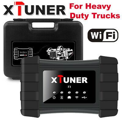 Truck diagnostic machine : XTUNER T1 HD Heavy Duty Trucks Auto Intelligent Diagnostic