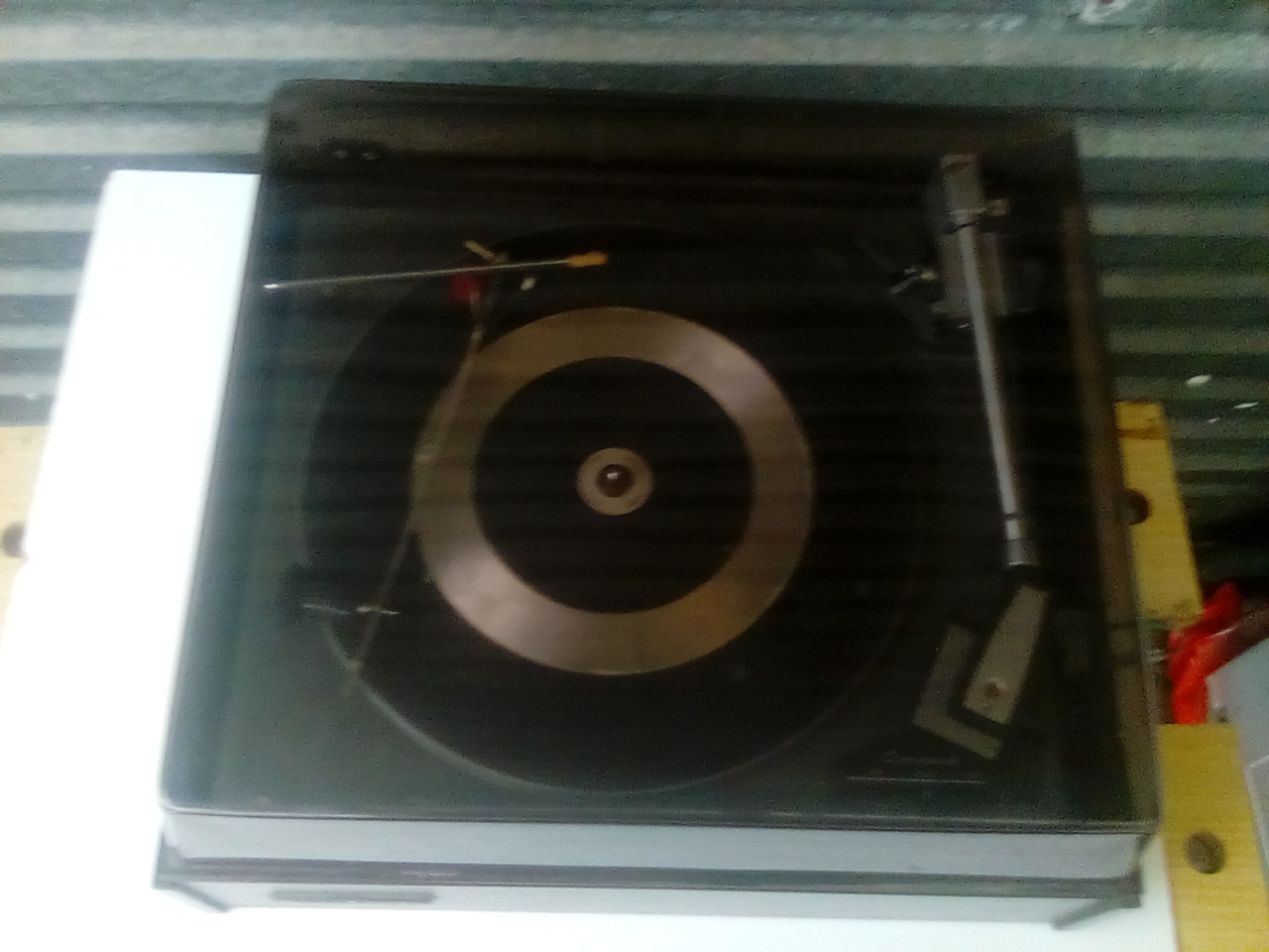 2 x Garrard mark SP 11 and SP iv turntables for repair/parts