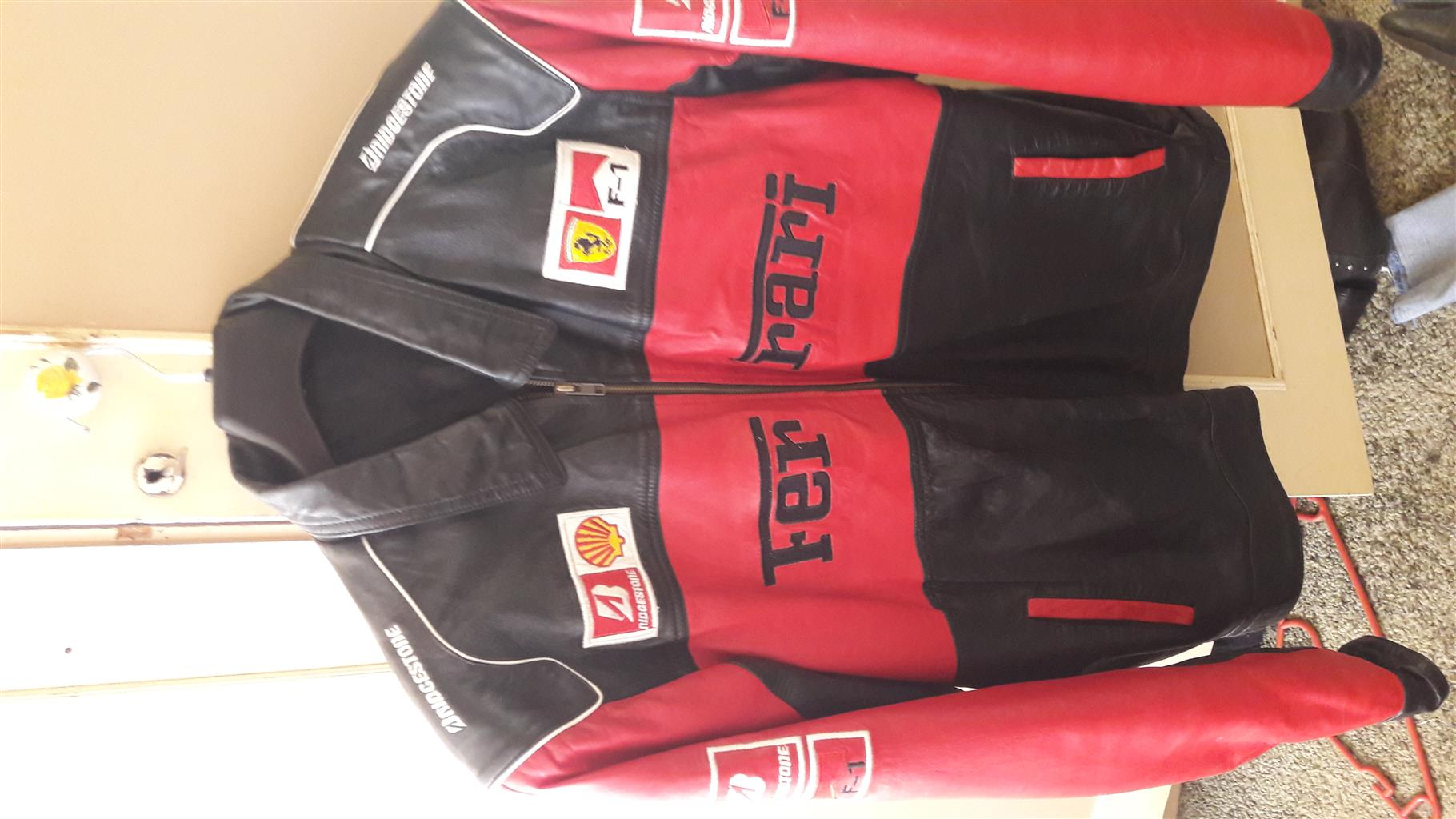 Original leather ferrari jacket