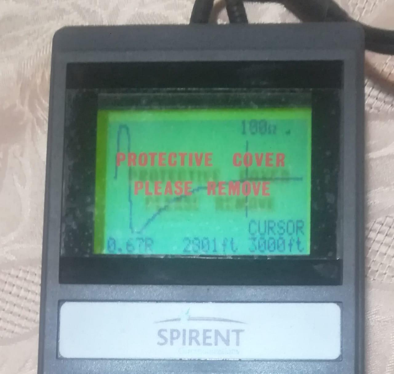 Spirent Cable fault Locator