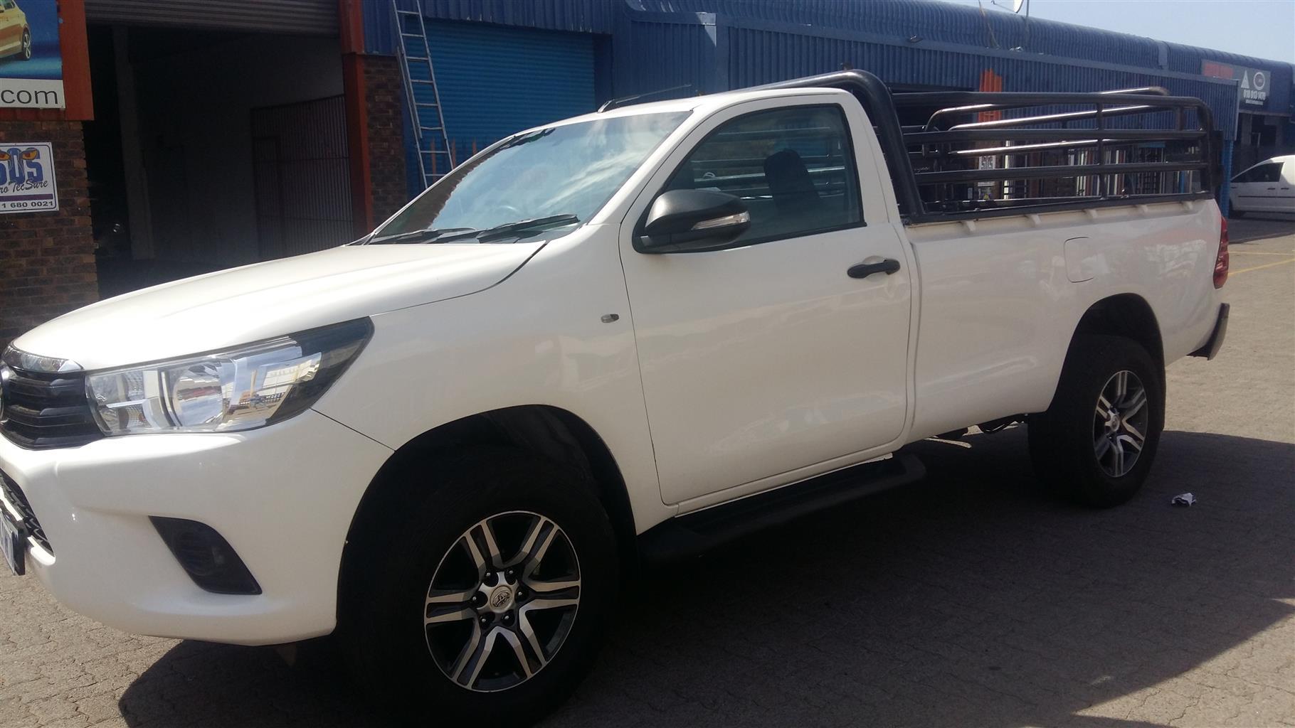 2017 Toyota Hilux 2.4GD 6 4x4 SR