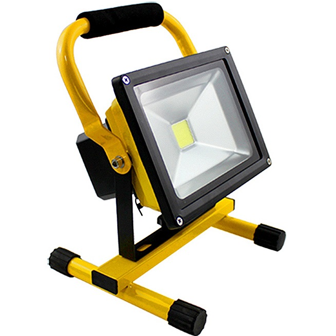 Rechargeable flood light 20w
