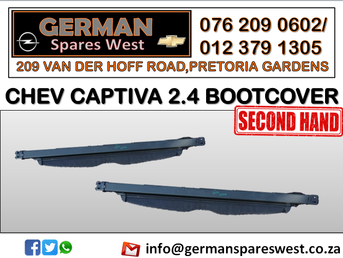 CHEV CAPTIVA 2.4 USED BOOTCOVER FOR SALE