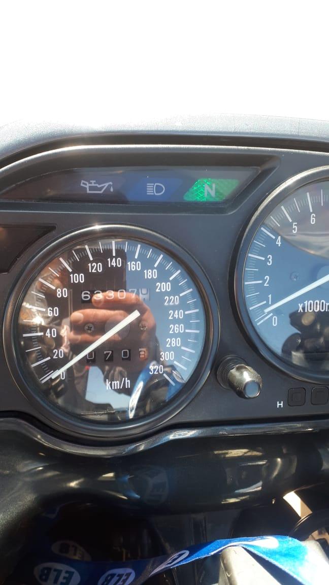 1999 Kawasaki ZZR