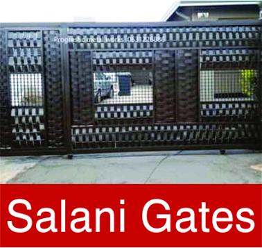 Gates, carports, balustrade, window frames