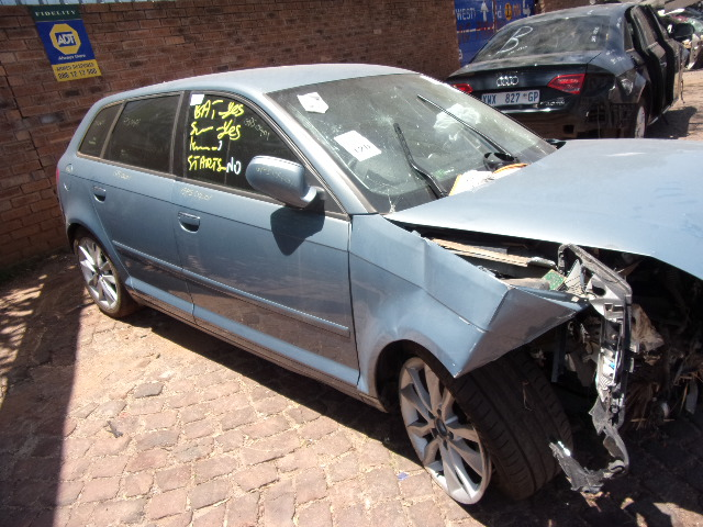 AUDI A3 1.8 TFSI STRIPPING FOR SPARES