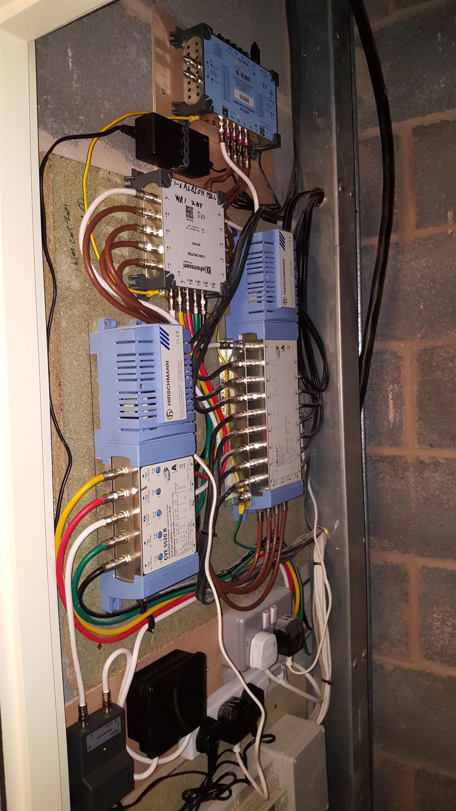 Level 4 DStv accredited services done by the owner.