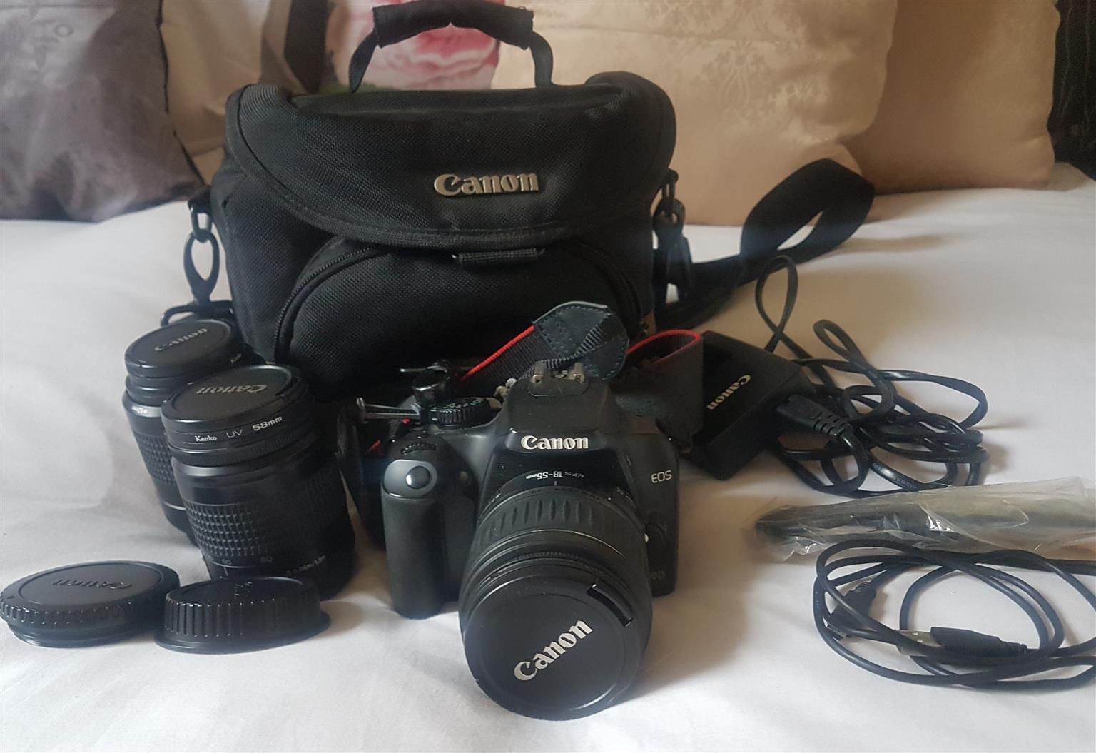 Canon EOS 1000D Camera & Accessories