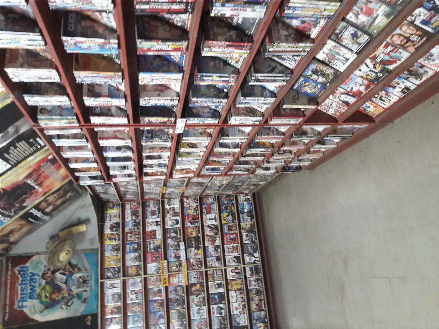 Dvds and blue ray and vhs movies for sale