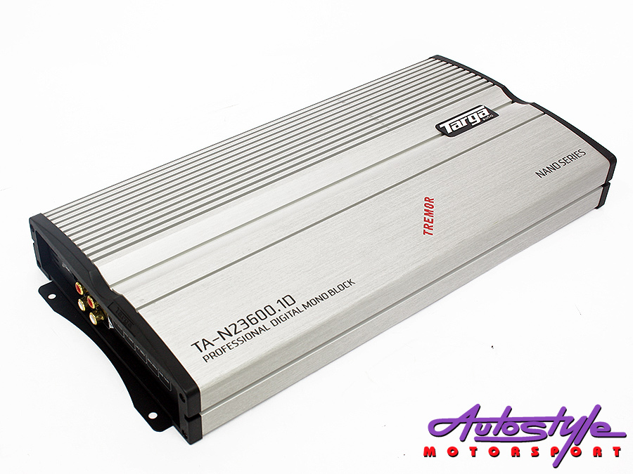 Targa Nano Tremor Series 2500rms 1ohm Amplifier