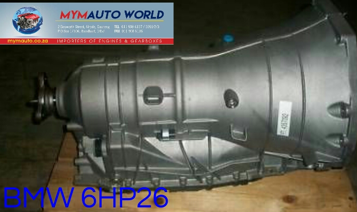 Imported used BMW 6HP26, Complete second hand used gearboxes