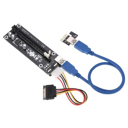 PCI-E Express 1X to 16X Riser Card 4pin