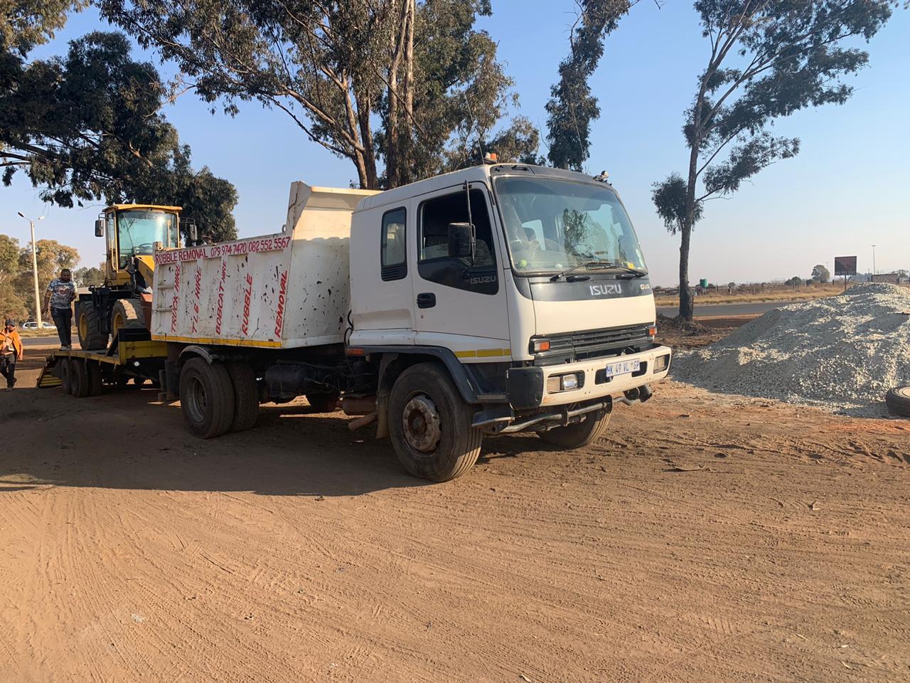 2009 Isuzu  Tipper truck for sale