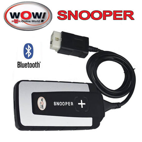 WOW SNOOPER CDP wurth V5 008 R2 with Bluetooth obd obdii obd 2 obd2 scanner  automotive NOW IN STOCK!!