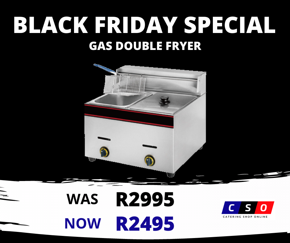 Double Gas Fryer Special