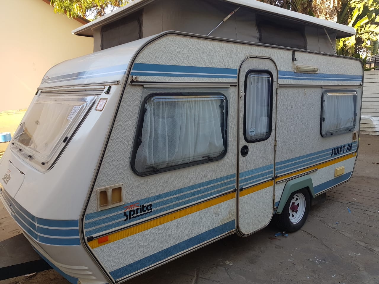 Sprite Swift caravan,lightweight 680kg tare | Junk Mail