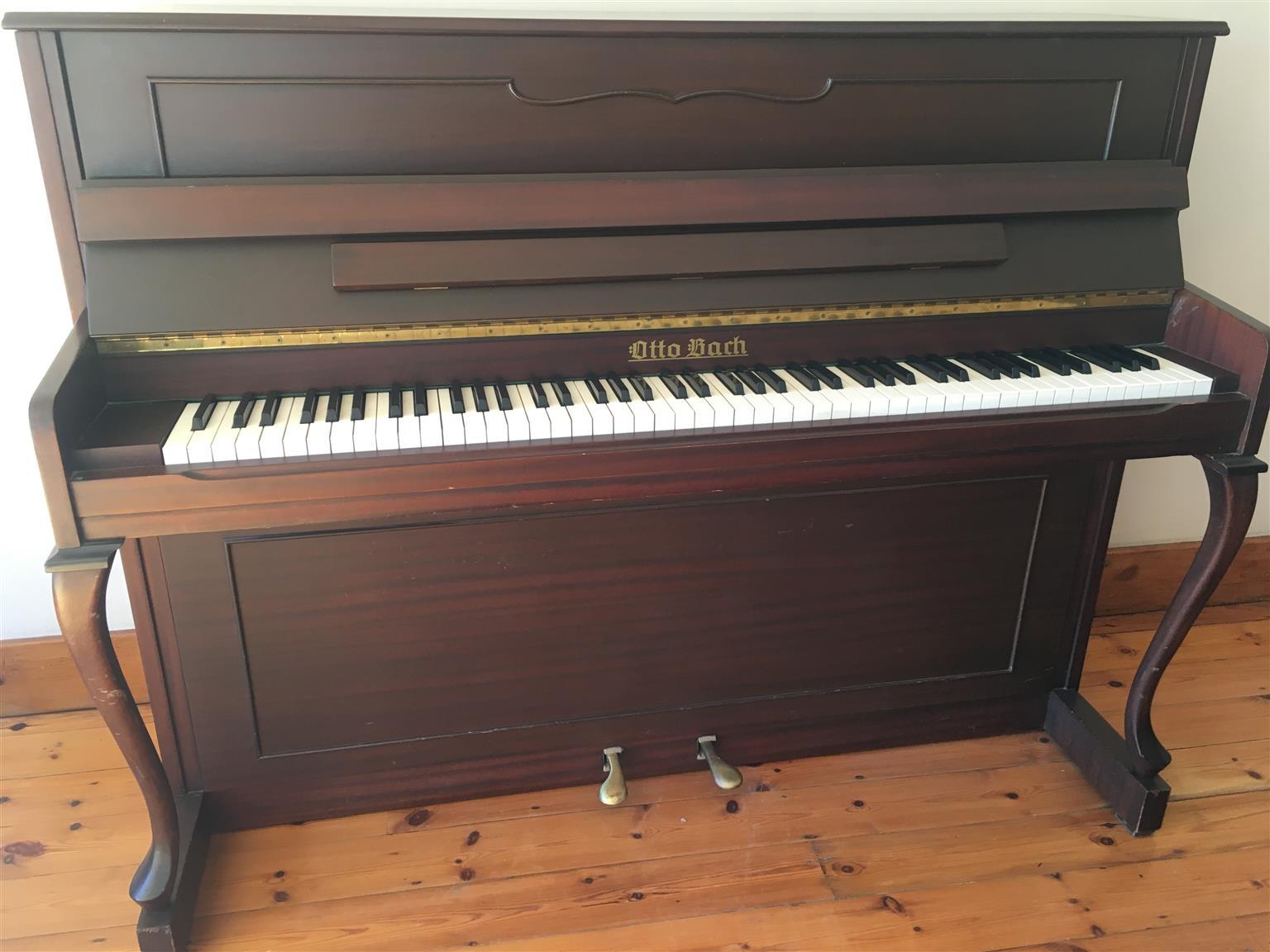 Piano - Otto Bach
