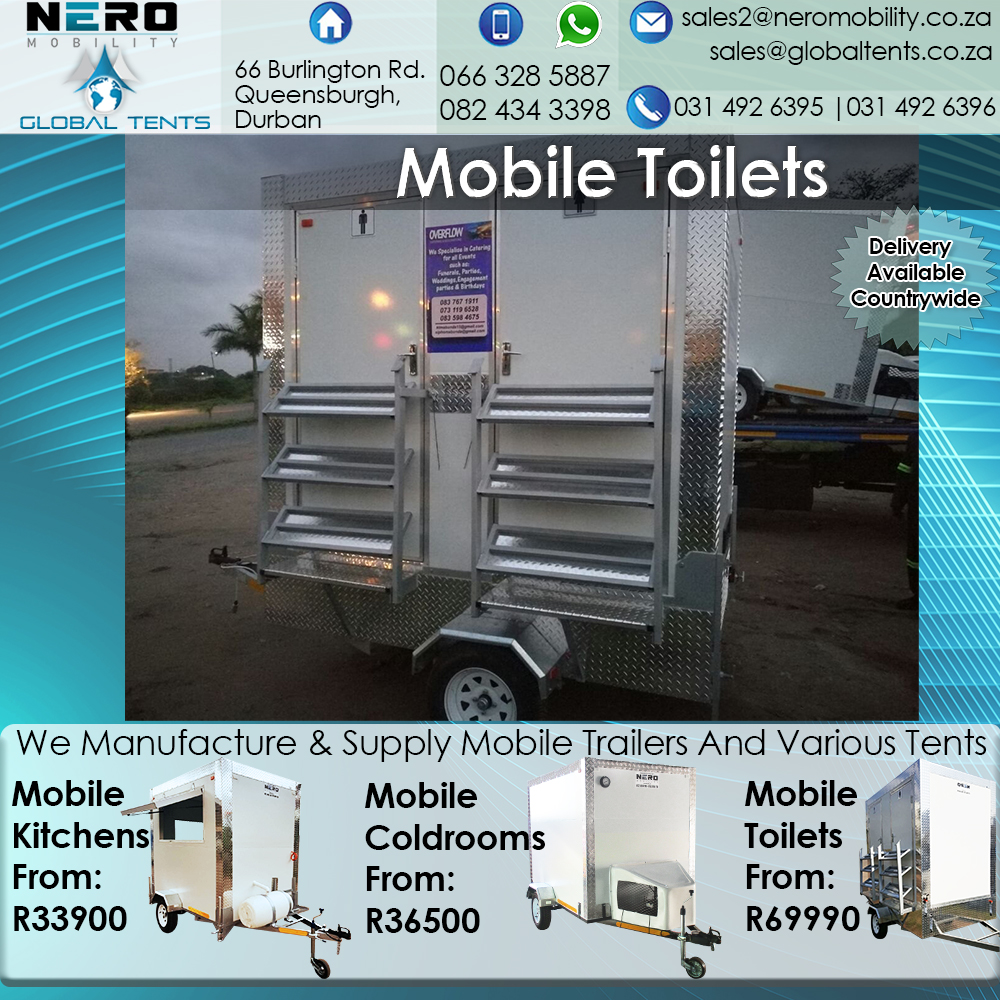 2.4 m Mobile VIP/Luxury Toilet