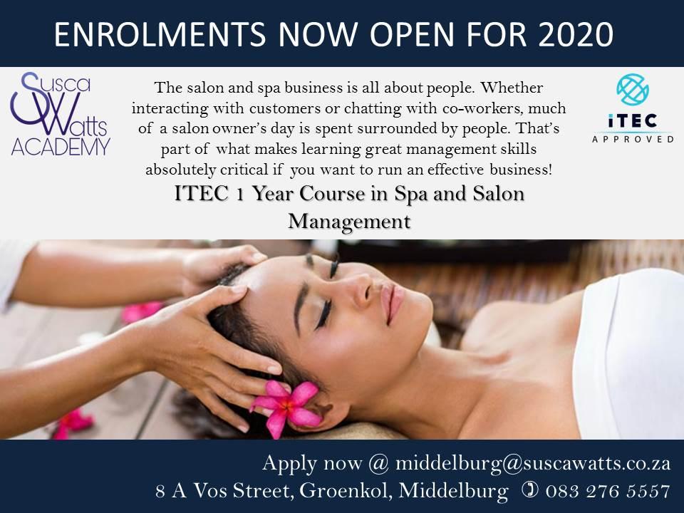 Itec Spa and Salon Management Course
