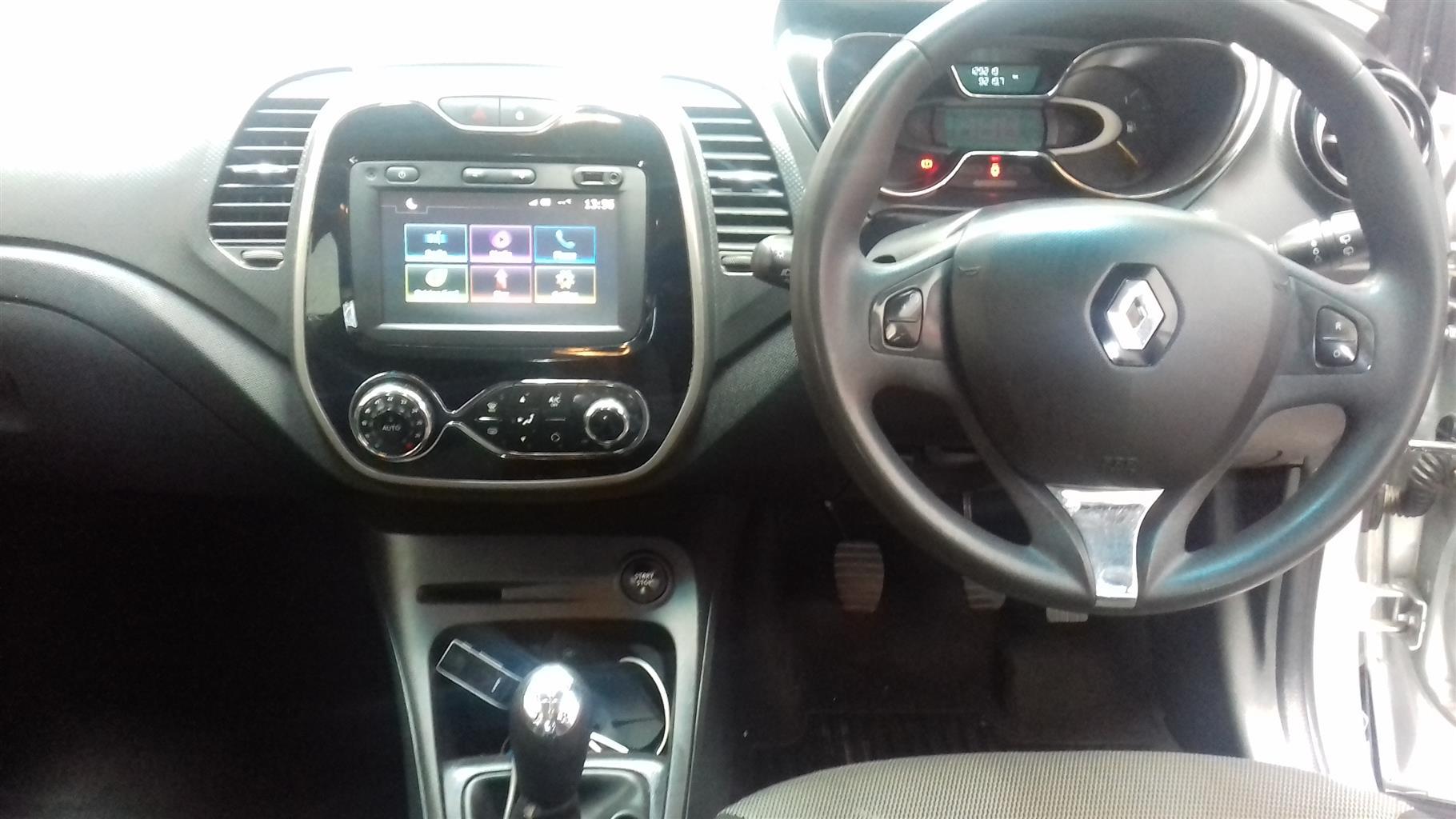 2016 Renault Captur 66kW turbo Expression